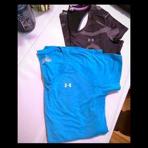 Two UA shirts